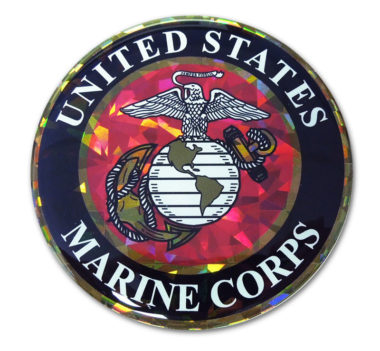 Marines Seal Reflective Decal