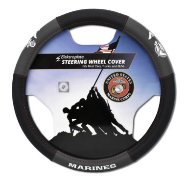 Marines Steering Wheel Cover - Large image
