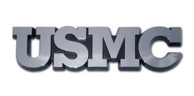 Marines USMC Chrome Emblem