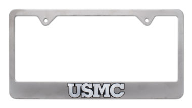 Marines USMC Matte License Plate Frame
