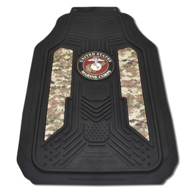 Marines Woodland Camo Floor Mats - 2 Pack