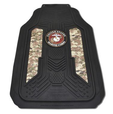Marines Woodland Camo Floor Mats - 2 Pack