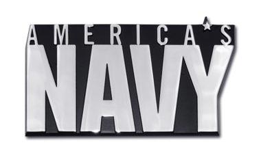 America's Navy Chrome Emblem
