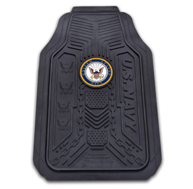 Navy Floor Mat - 2 Pack