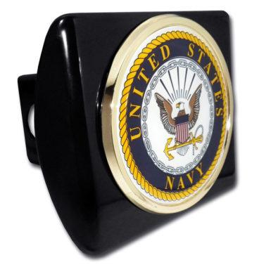 Navy Seal Emblem on Black Hitch Cover image