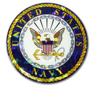 Navy Seal 3D Reflective Decal