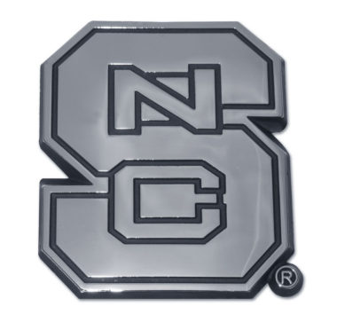 North Carolina State Chrome Emblem