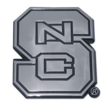 North Carolina State Chrome Emblem