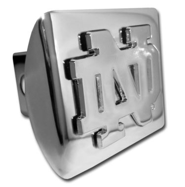 Notre Dame Chrome Hitch Cover