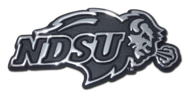 North Dakota State Chrome Emblem image