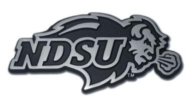 North Dakota State Matte Chrome Emblem