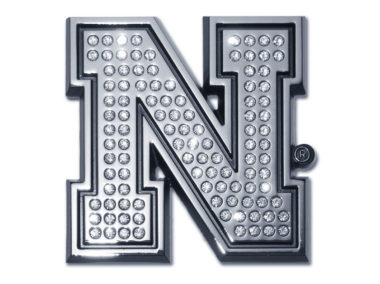 University of Nebraska Crystal Chrome Emblem