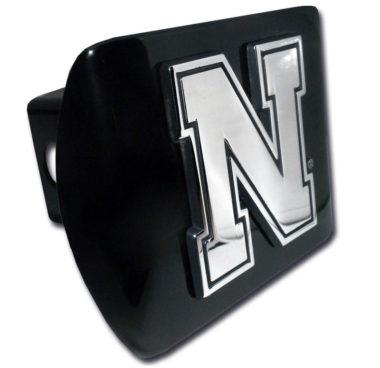 University of Nebraska Black Hitch Cover