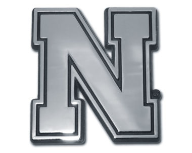 University of Nebraska Chrome Emblem