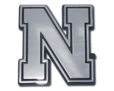 University of Nebraska Chrome Emblem