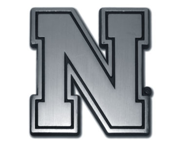 University of Nebraska Matte Chrome Emblem