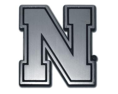 University of Nebraska Matte Chrome Emblem