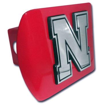 University of Nebraska Red Hitch Cover