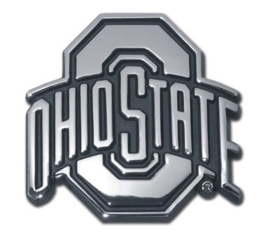 Ohio State Chrome Emblem