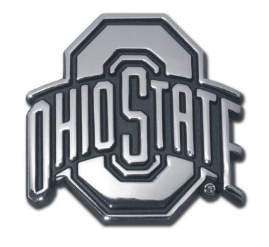 Ohio State Chrome Emblem
