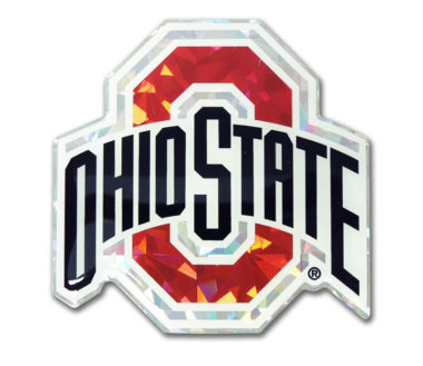 Ohio State Color 3D Reflective Decal image