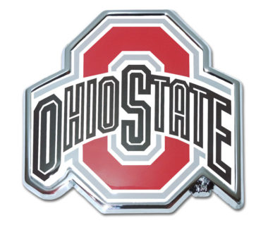 Ohio State Color Chrome Emblem