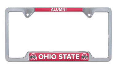 Ohio State Alumni License Plate Frame