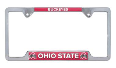 Ohio State Buckeyes License Plate Frame image