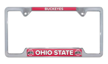 Ohio State Buckeyes License Plate Frame
