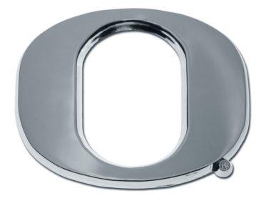 """Oregon """"O"""" Shiny Chrome Emblem"""