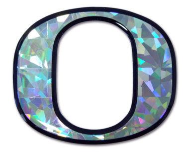Oregon 3D Reflective Decal image