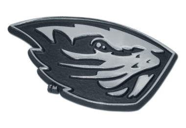 Oregon State Beaver Chrome Auto Emblem