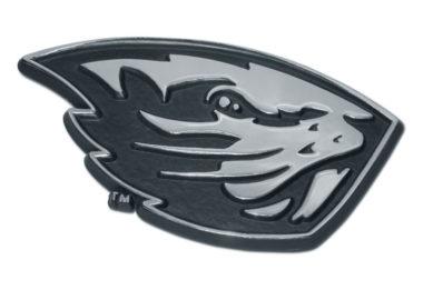 Oregon State Beaver Chrome Auto Emblem