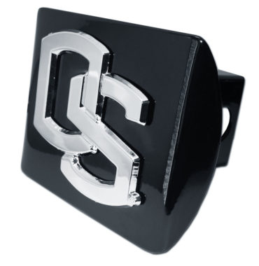 Oregon State Black Metal Hitch Cover