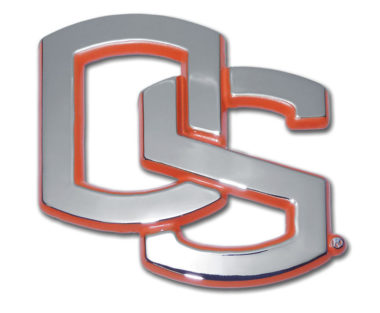 Oregon State Orange Chrome Emblem
