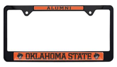 Oklahoma State Alumni Black License Plate Frame image