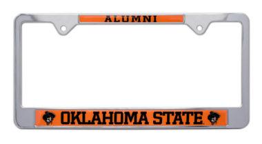 Oklahoma State Alumni License Plate Frame