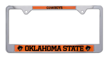 Oklahoma State Cowboys License Plate Frame