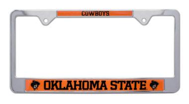 Oklahoma State Cowboys License Plate Frame image