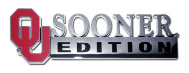 University of Oklahoma Edition Chrome Emblem image