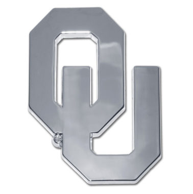 University of Oklahoma Chrome Emblem