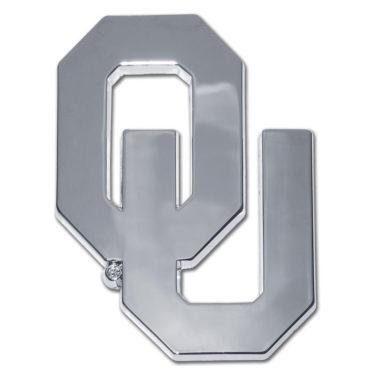 University of Oklahoma Chrome Emblem