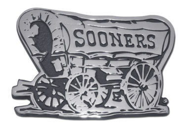 Oklahoma Sooners Chrome Emblem
