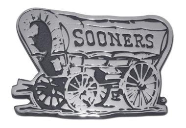 Oklahoma Sooners Chrome Emblem image