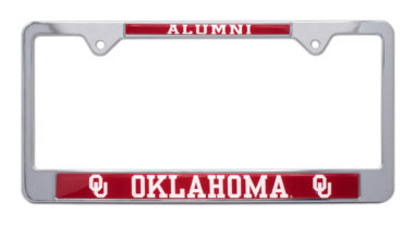 University of Oklahoma Alumni License Plate Frame image
