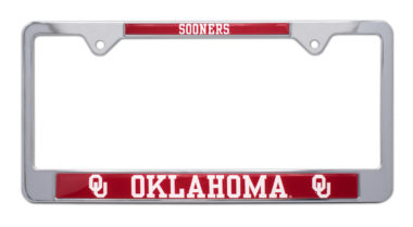 University of Oklahoma Sooners License Plate Frame