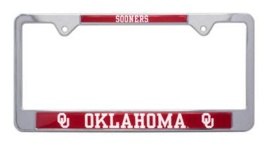 University of Oklahoma Sooners License Plate Frame image