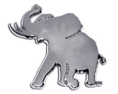 Alabama Pachyderm Chrome Emblem image