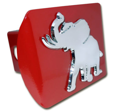 Alabama Pachyderm on Red Hitch Cover