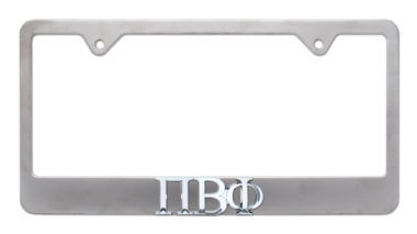 Pi Beta Phi Matte License Plate Frame